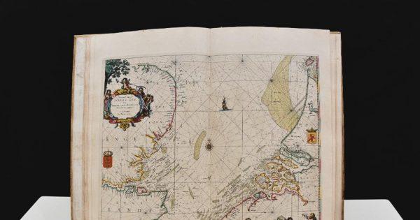 Pieter Goos, De Zee-Atlas ofter Water-Wereld, 1666, Bibliothèque municipale de Nogent-sur-Seine. © Nathanael Collet, ville de Nogent-sur-Seine.