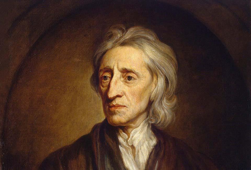 Godfrey Kneller (1646–1723), Portrait de John Locke, musée de l'Ermitage.