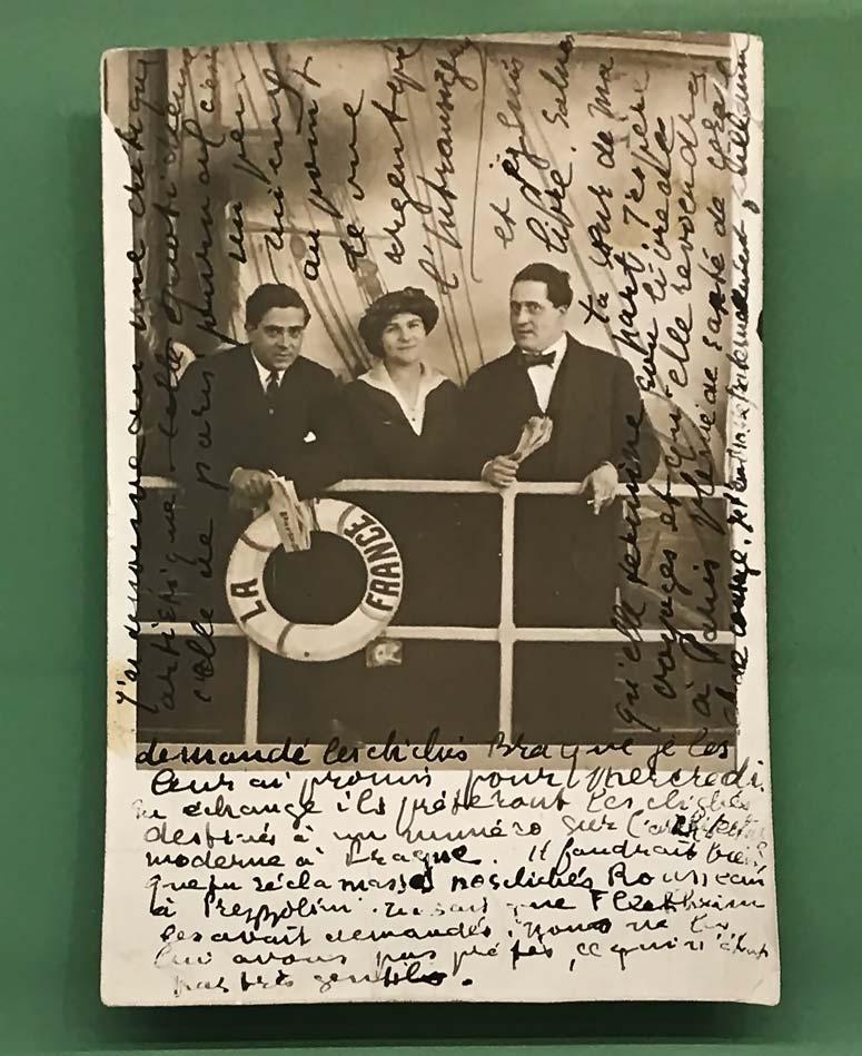 Guillaume Apollinaire, lettre autographe à Serge Férat, Paris, 5 mai 1914. © Passéisme.