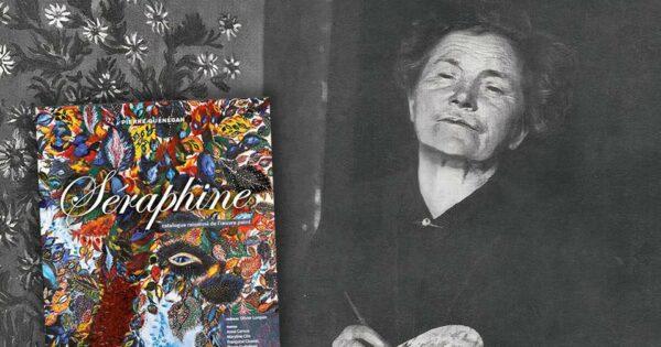 Photographie de Séraphine Louis par Mademoiselle Anne-Marie Uhde, années 1920-1930.