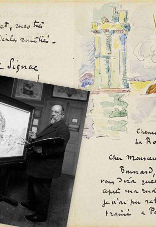 À la découverte des lettres d'artistes avec Michael Bird