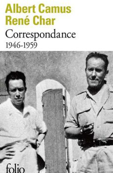 Albert Camus, René Char – Correspondance (1946-1959)