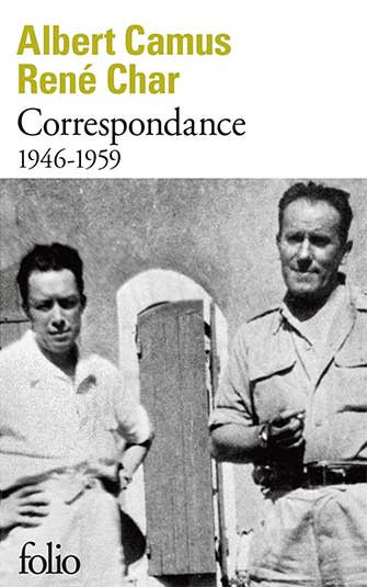 Albert Camus, René Char - Correspondance (1946-1959)