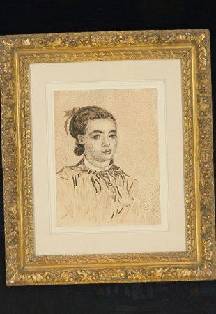 Ce dessin de Vincent van Gogh atteindra-t-il 10 millions de dollars ?