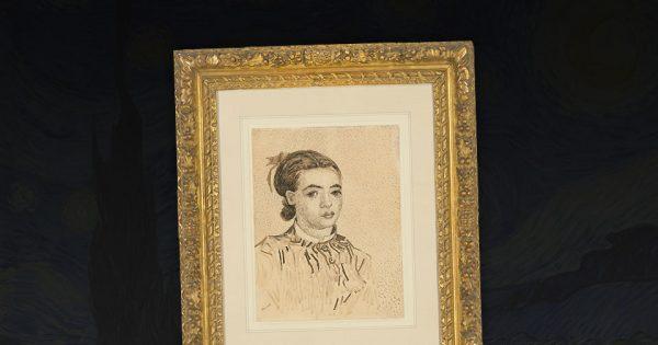 Vincent van Gogh, La Mousmé. © Christie's.