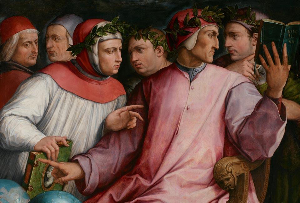 Giorgio Vasari, Six Poètes toscans, 1569. © Minneapolis Institute of Art (71.24).