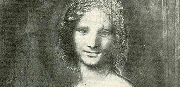 École de Léonard de Vinci, La Joconde nue, vers 1515, Musée Condé