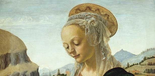 Andrea del Verrocchio, Vierge à l'Enfant, Gemäldegalerie