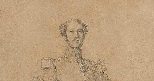 Portrait aux trois-quarts de Ferdinand, duc d'Orléans, 1841. © Roquigny / Studio Sebert