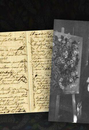 Du plumeau au pinceau à la plume — Focus sur une émouvante lettre de Séraphine Louis