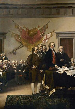 Focus sur deux signatures de la Déclaration d'indépendance des États-Unis