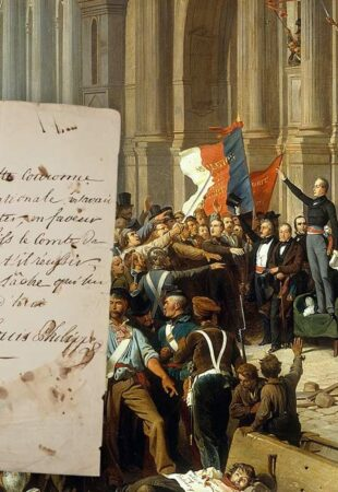 Focus sur la révolution de 1848 et l'acte d'abdication de Louis-Philippe Ier