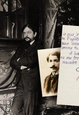 Focus sur une lettre macabre de Pierre Louÿs à Claude Debussy