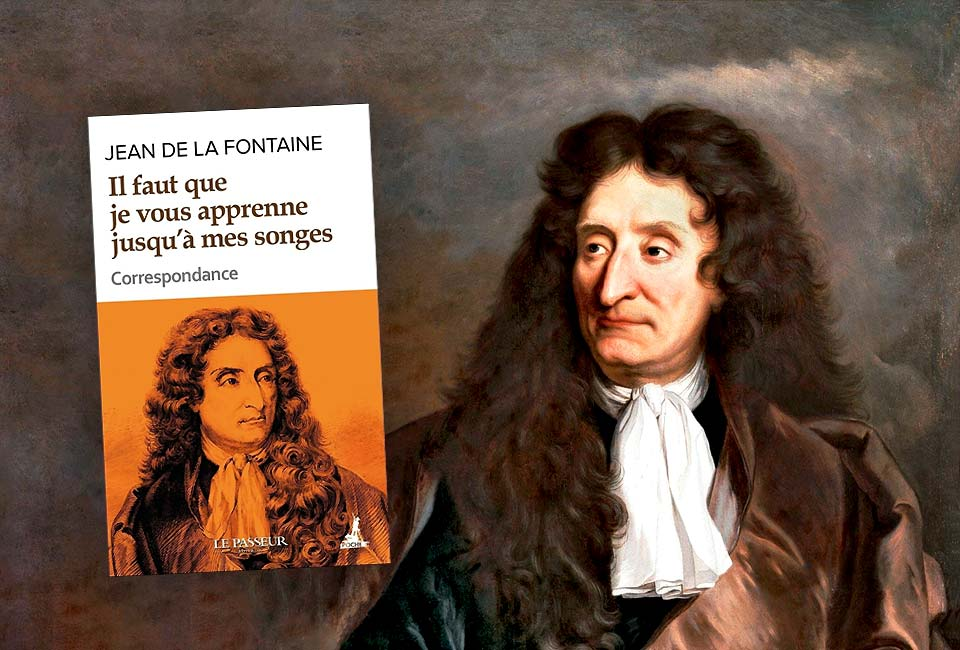 Portrait de Jean de La Fontaine par Hyacinthe Rigaud, 1690. Musée Carnavalet (P. 2441).