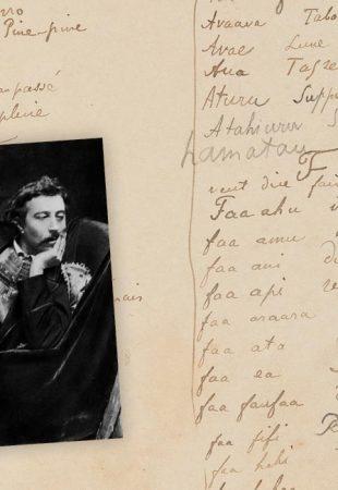 Le dictionnaire bilingue manuscrit de Gauguin bientôt aux enchères