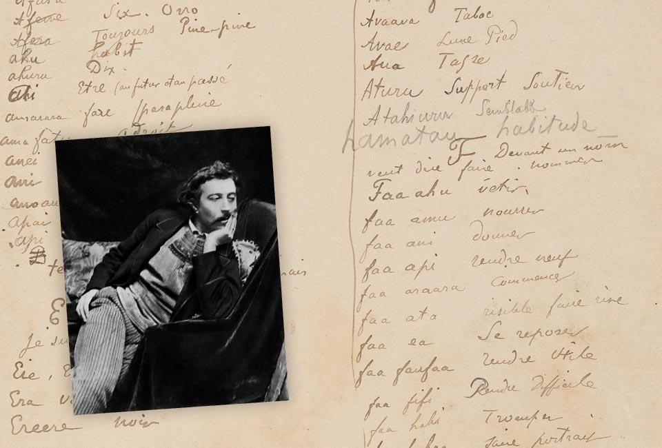 Paul Gauguin, Dictionnaire Tahitien/Polynésien-Français. © Heritage Auctions, HA.com