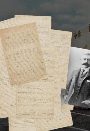 Le manuscrit original du manifeste des Jeux olympiques bientôt aux enchères