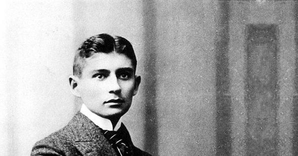 Portrait de Franz Kafka réalisé dans l'atelier Lotte Jacobi, vers 1906.