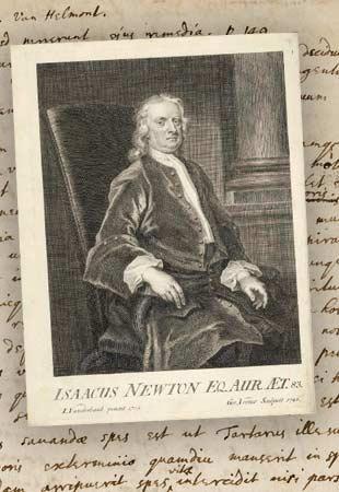 Les notes inédites d'Isaac Newton sur la grande peste de Londres bientôt en vente