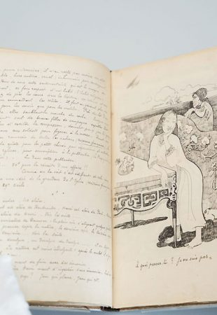 L'Institut Courtauld annonce l'acquisition d'un rare manuscrit illustré de Paul Gauguin