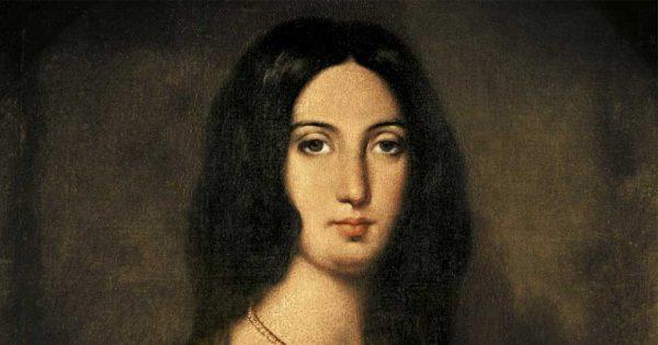 Portrait de George Sand extrait du livre George Sand à Nohant - Une maison d'artiste.