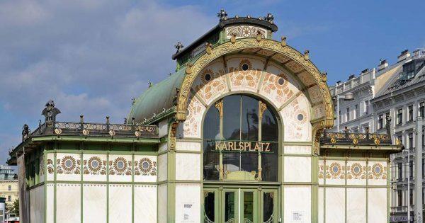 Otto Wagner Pavillon - Karlsplatz. © Pudelek.