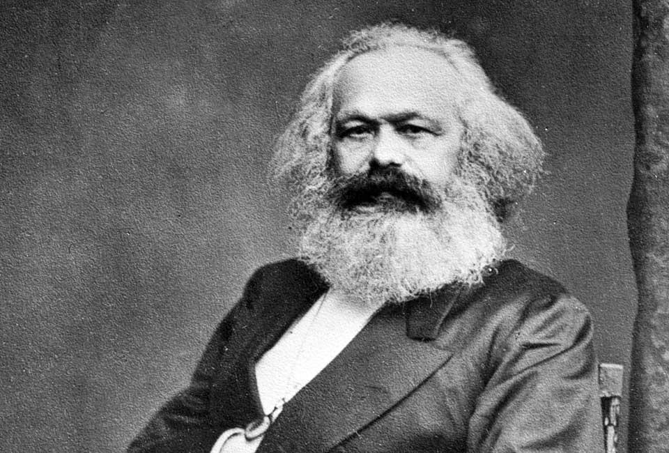 Portrait de Karl Marx par John Jabez Edwin Mayal (1813–1901), avant 1875. © International Institute of Social History