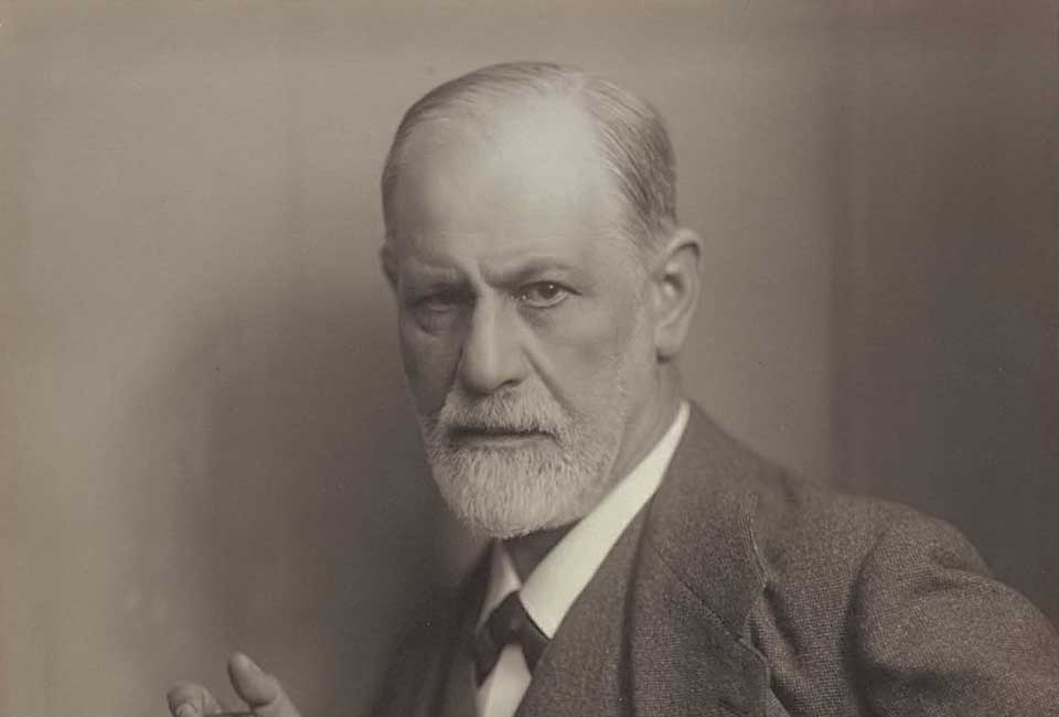 Portrait de Sigmund Freud par Max Halberstadt (1882-1940), vers 1921