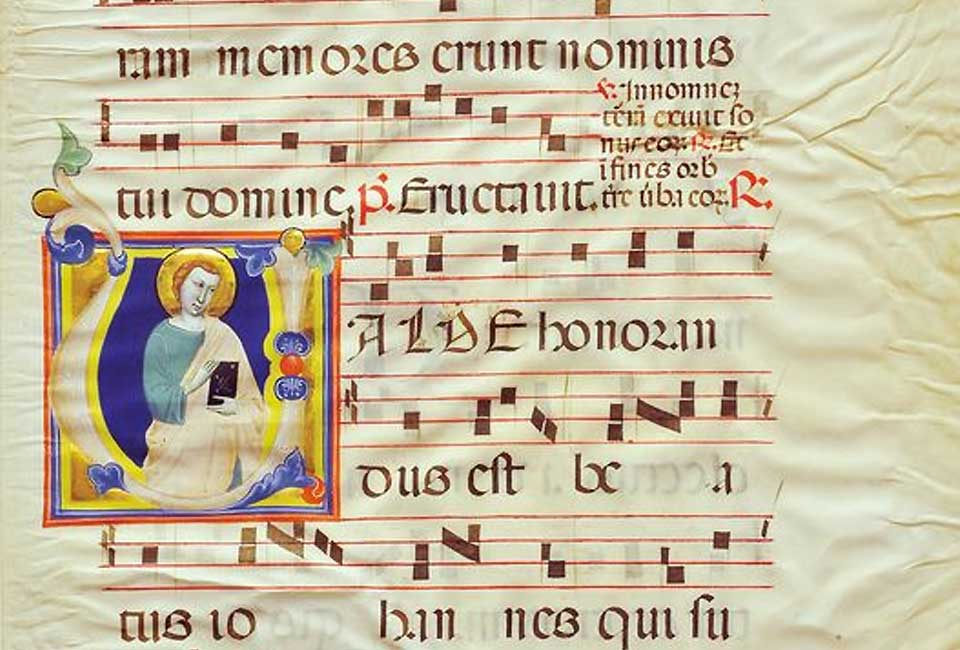 Manuscrit récupéré par l'Unité de protection du patrimoine italien. © Le Gallerie Degli Uffizi.