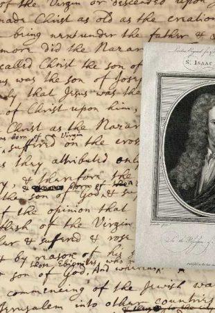 Un manuscrit d'Isaac Newton sur la nature de Dieu bientôt aux enchères