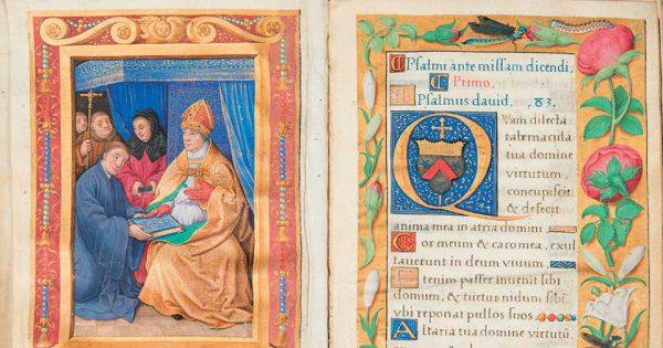 Livre de prières tourangeau du XVIe siècle réalisé par le Maître de Claude de France. © OVV Thierry de Maigret