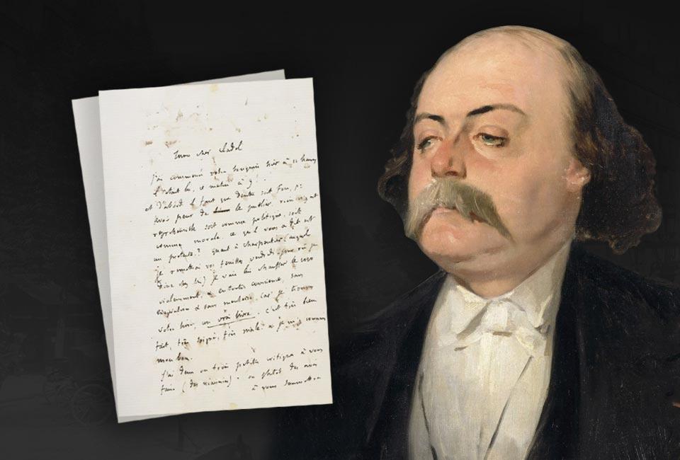 Portrait de Gustave Flaubert par Pierre François Eugène Giraud, vers 1856.